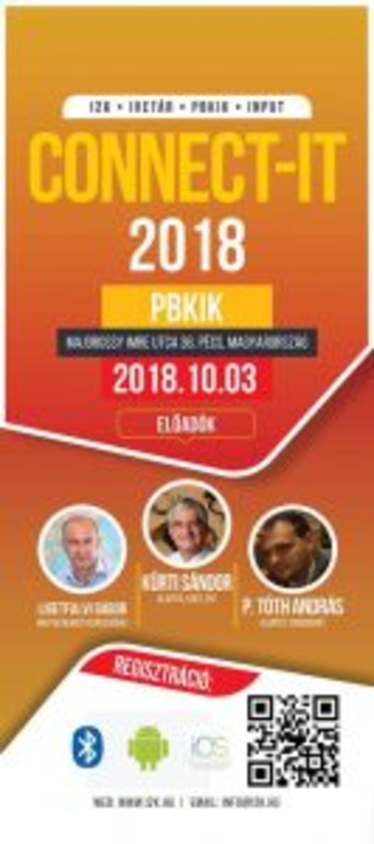 ConnectIT Pécs plakát