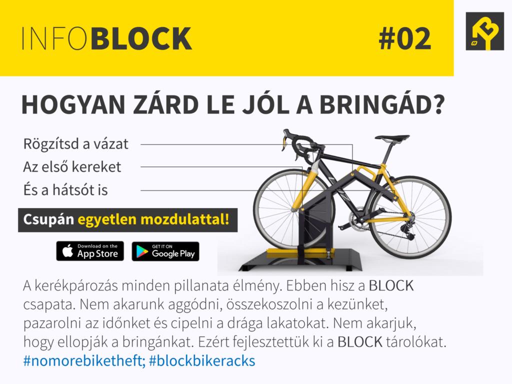 BLOCK bike racks