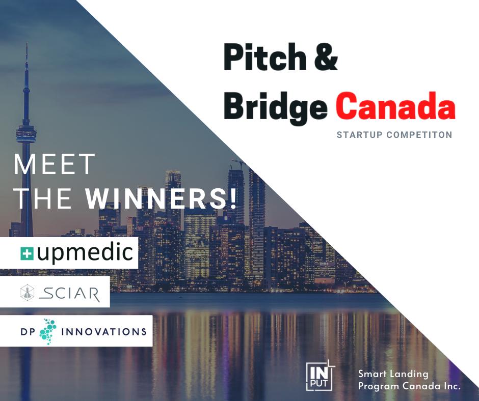 Pitch & Bridge Canada - winners